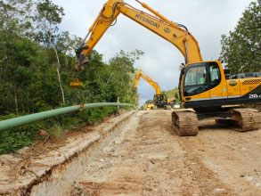 UPGRADE FUEL PIPELINE, SASA VALLEY FUEL FARM TO ANDERSEN AIR FORCE BASE, GUAM